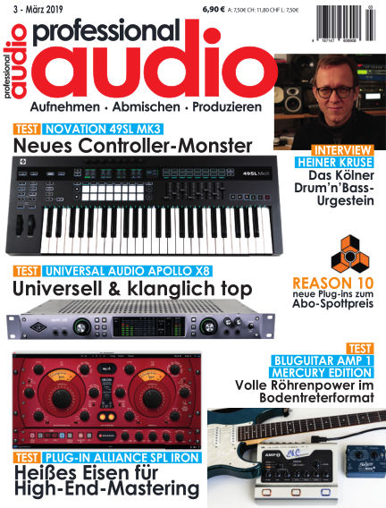Professional audio Magazin February 26, 2019 00:00