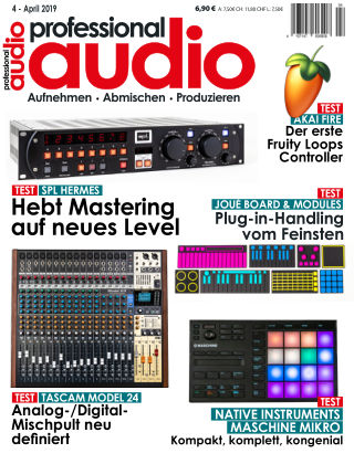 Professional audio Magazin Nr 04 2019