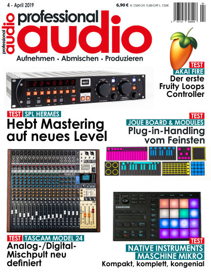 Professional audio Magazin March 26, 2019 00:00