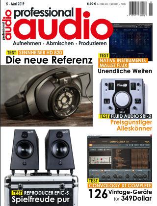 Professional audio Magazin Nr 05 2019
