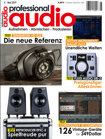 Professional audio Magazin May 03, 2019 00:00