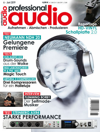 Professional audio Magazin Nr 06 2019