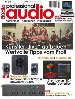 Professional audio Magazin Nr 07 2019