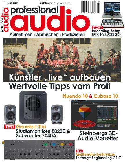 Professional audio Magazin June 28, 2019 00:00