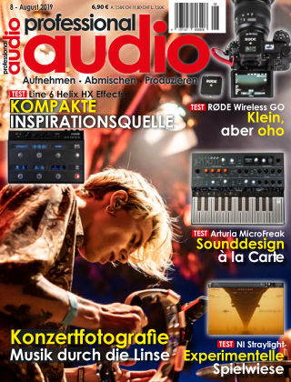 Professional audio Magazin Nr 08 2019