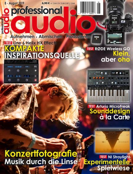 Professional audio Magazin July 26, 2019 00:00