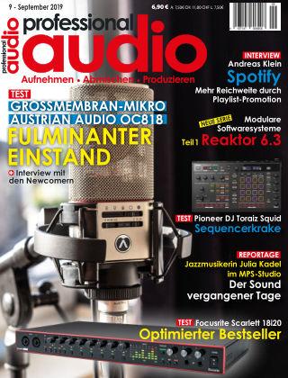 Professional audio Magazin Nr 09 2019