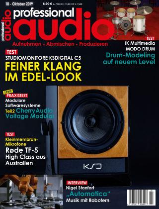Professional audio Magazin Nr 10 2019