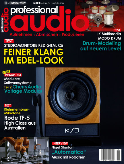 Professional audio Magazin September 24, 2019 00:00