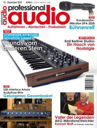 Professional audio Magazin Nr 12 2019