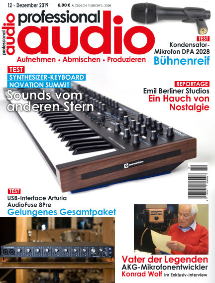 Professional audio Magazin November 26, 2019 00:00