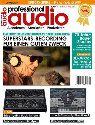 Professional audio Magazin Nr 01 2020