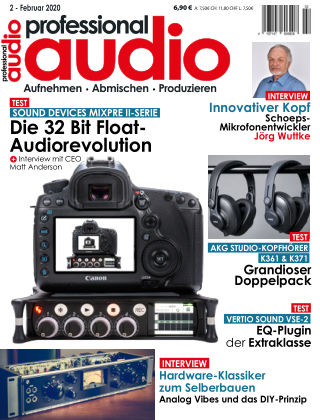Professional audio Magazin Nr 02 2020