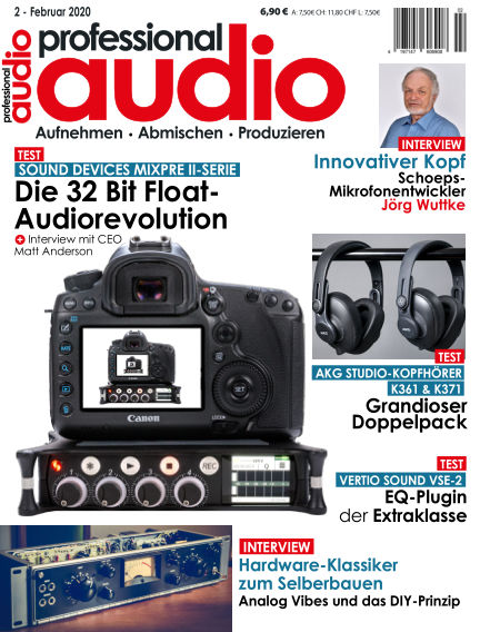 Professional audio Magazin January 28, 2020 00:00