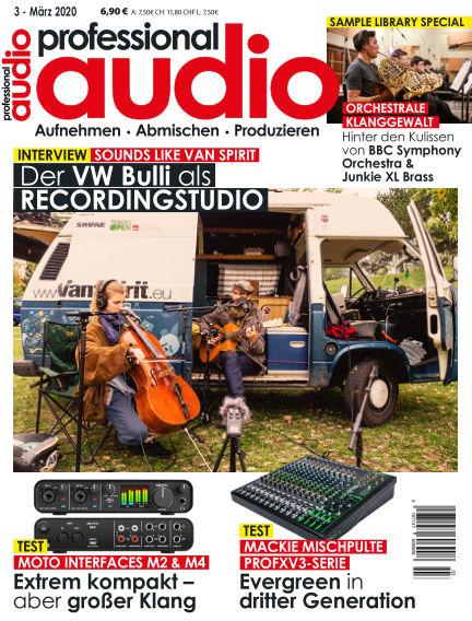 Professional audio Magazin February 25, 2020 00:00