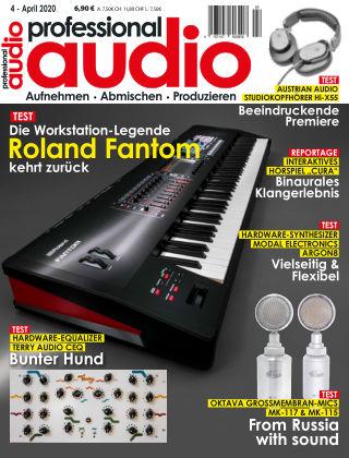 Professional audio Magazin Nr 04 2020