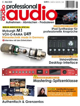 Professional audio Magazin Nr 05 2020