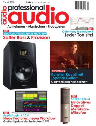 Professional audio Magazin Nr 07 2020