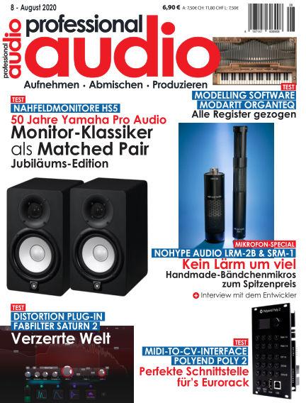 Professional audio Magazin July 28, 2020 00:00