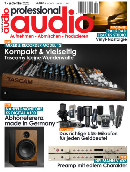 Professional audio Magazin August 25, 2020 00:00