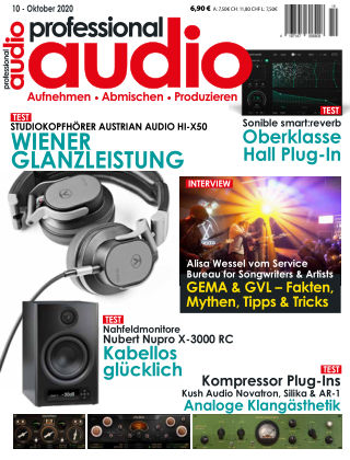 Professional audio Magazin Nr 10 2020