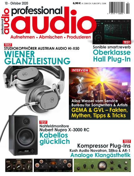 Professional audio Magazin September 22, 2020 00:00