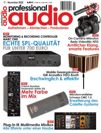 Professional audio Magazin October 27, 2020 00:00