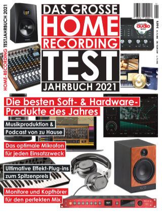 Professional audio Magazin Homerecording 2021