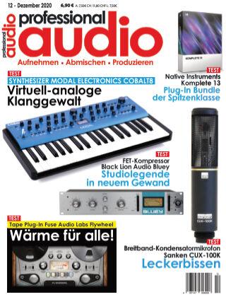 Professional audio Magazin Nr 12 2020