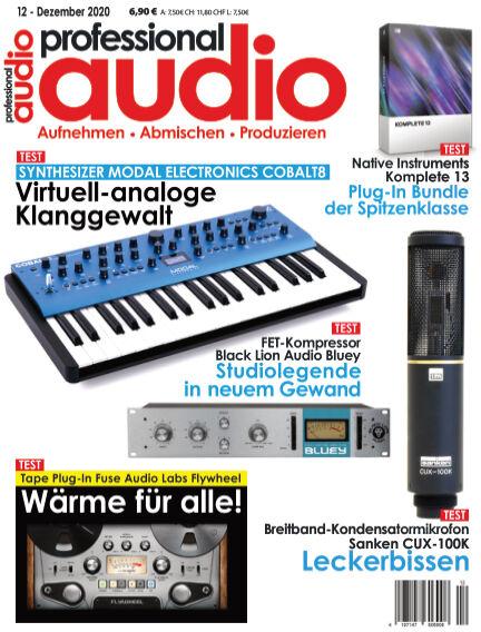 Professional audio Magazin November 24, 2020 00:00