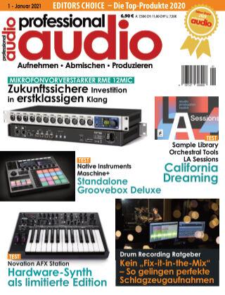Professional audio Magazin Nr 01 2021