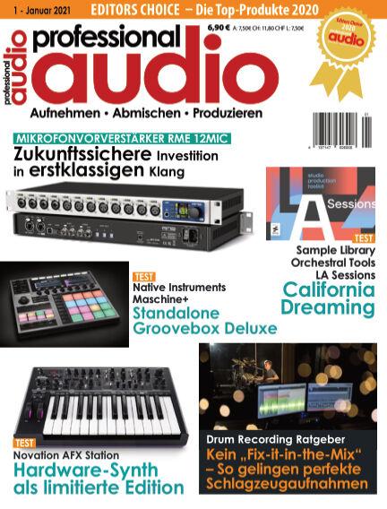 Professional audio Magazin December 21, 2020 00:00