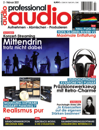 Professional audio Magazin Nr 02 2021