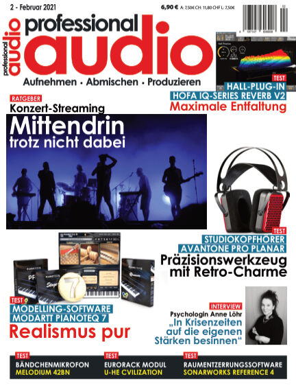 Professional audio Magazin January 27, 2021 00:00