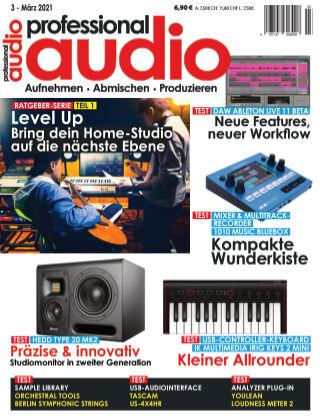 Professional audio Magazin Nr 03 2021
