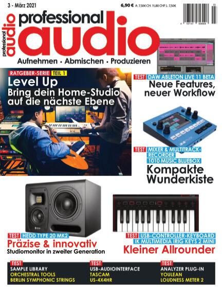 Professional audio Magazin February 23, 2021 00:00