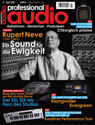 Professional audio Magazin Nr 04 2021