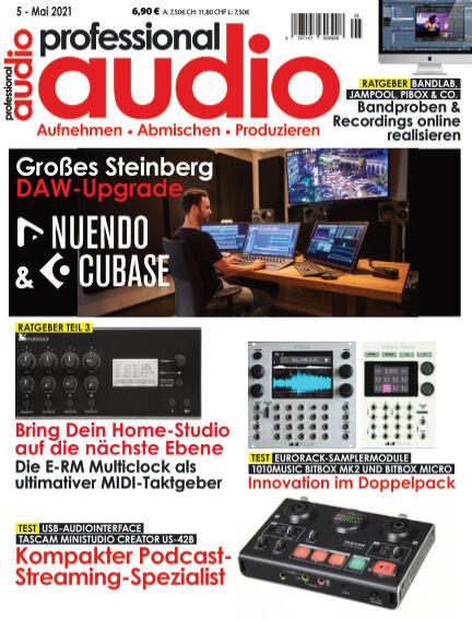 Professional audio Magazin April 27, 2021 00:00