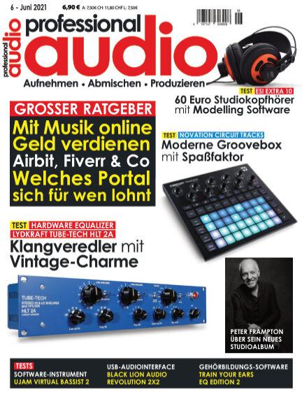 Professional audio Magazin May 25, 2021 00:00