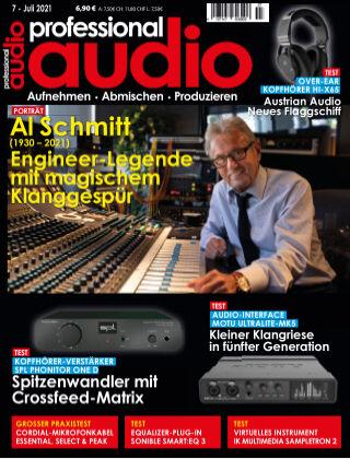 Professional audio Magazin Nr 07 2021