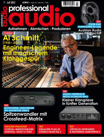 Professional audio Magazin June 22, 2021 00:00