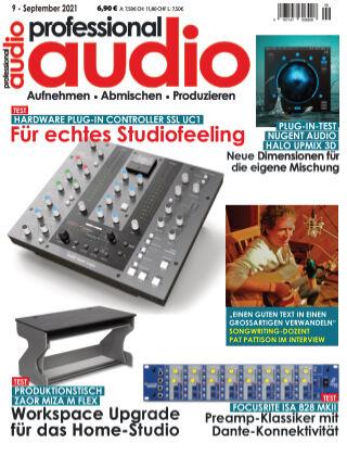 Professional audio Magazin Nr 09 2021