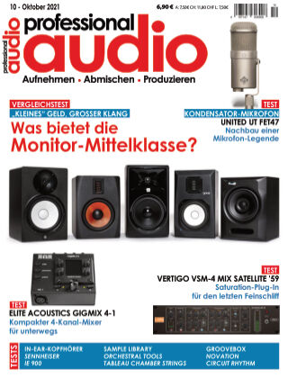 Professional audio Magazin Nr 10 2021