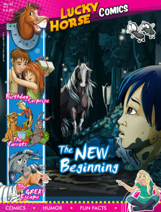Lucky Horse Comic January 2017