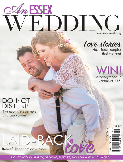 An Essex Wedding August 30, 2019 00:00
