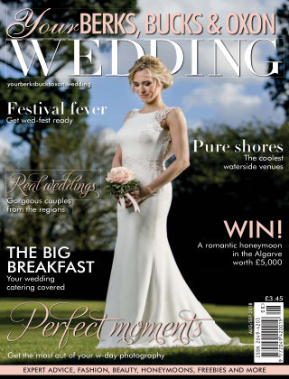 Your Berks, Bucks & Oxon Wedding AugustSeptember