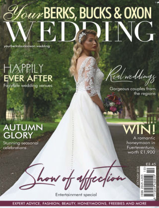 Your Berks, Bucks & Oxon Wedding Oct Nov