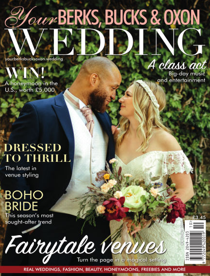 Your Berks, Bucks & Oxon Wedding October 04, 2019 00:00