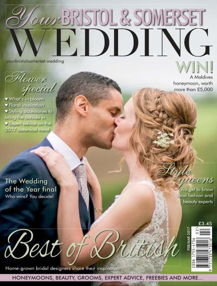 Your Bristol & Somerset Wedding February 03, 2017 00:00