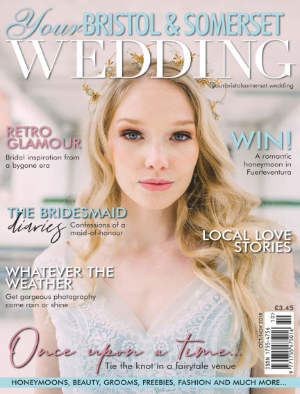 Your Bristol & Somerset Wedding October 05, 2018 00:00